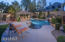 Oversized Salt Water Pool with Grotto & Waterfall