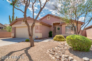 An Immaculate Hillside Home in the McDowell Mountains with Community Amenities.