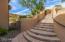 Steps towards gated entry from street level offers ultimate privacy