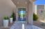 Iron & Glass Dramatic Front Door