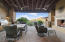 Front patio entertainment space with views