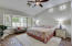 Large master bedroom! And did we mention the VIEWS!