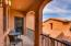 "Sitting on the Balcony overlooking the gated entry courtyard. Your own private ""Tuscan Experience!"" like Italy!!"