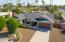 Circular driveway for multiple cars and a 2 car garage!