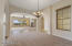 View form formal dining room to great room