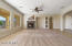 Great room is pre-wired for surround sound system. Ceiling mounted speakers are included.