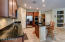 Large open kitchen with double ovens. Perfect for entertaining.