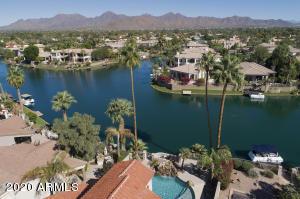 Lake Serene Home Aerial