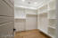 Owners suite - Large walk-in closet 1
