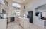 Kitchen updated with Slate grey, fingerprint proof appliances.