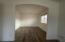 Sitting area inside bedroom