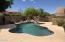 Beautiful pool with water feature