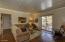 Living room facing hallway