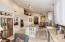 CUSTOM cabinetry, granite countertops, stainless steel appliances.