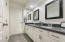 Leathered granite counters