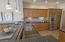 Kitchen offers Stainless Appliances, Granite Countertops, Shaker Cabinets and Tile Backsplash