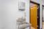 Hallway sink