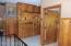 Stunning Hand Crafted Storage Closets in Hallway
