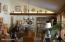 Lofted-ceiling living room
