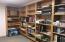 Bookshelves on Lower Level