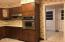 Kitchen, wall oven & cook top