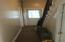 Hallway to stairwell