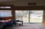 Three season porch with slider to back yard