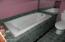 Lower level Jacuzzi tub