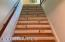 Stairway to 2nd floor.