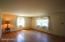 Living room, nice hardwood floors.