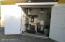 Exterior Closet for Pellet Boiler