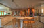 large casual country kitchen