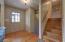 Natural finish oak floors
