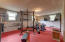 Lower level bonus room for fitness, office, playroom or extra family room.