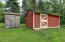 Shed and Barn for animals!