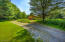 The driveway in from Lime Rock Lane.