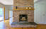 And another wood-burning fireplace.