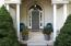 Lovely, inviting entryway