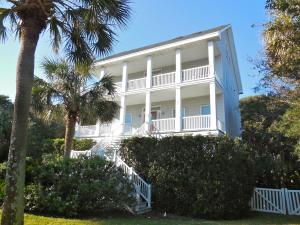 Elevated home with 2 full length porches