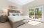 Guest suite has outdoor living area