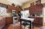 "High-end updated kitchen with granite counters & 42""cabinets!"