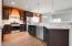Nice cabinets and granite countertops