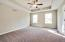 Owners suite on its own level. With tray ceiling and nice footprint.