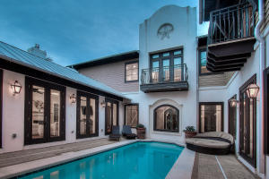 Heated pool & courtyard surrounded by home - ultimate privacy