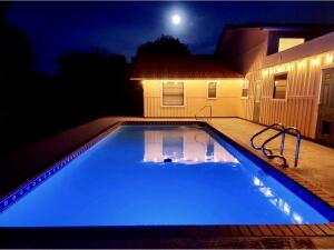 Backyard Pool Lights