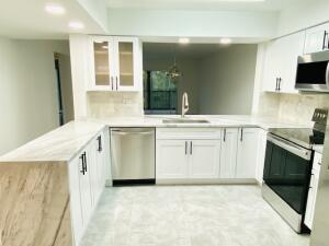 Be part of the party in your open kitchen