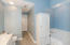 Master Bathroom with Jacuzzi and Walk-In Shower