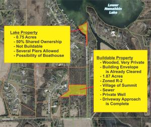 Property for sale at Lt8 Plat Of Breens Bay BLKB, Summit,  WI 53066
