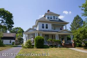 A beach house situated on best block in town with 9 bedrooms and 4 1/2 baths
