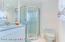 Ensuite full bath with walk in shower